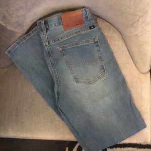Lucky Brand boys size 16 light blue jeans